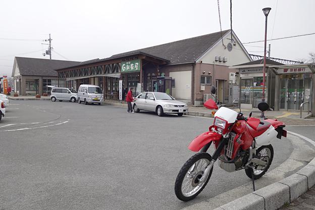 胡麻駅前のxr650r