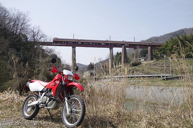 日本國有鐵道 山陰本線 高屋川橋梁