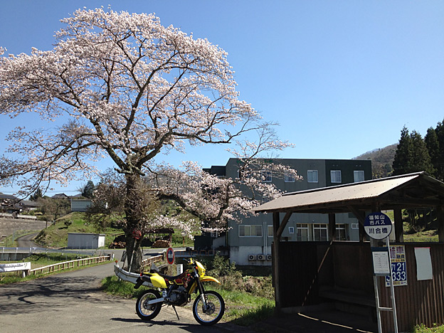 川合橋バス停