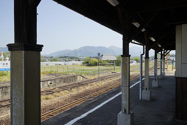 日本國有鐵道 因美線 高野驛