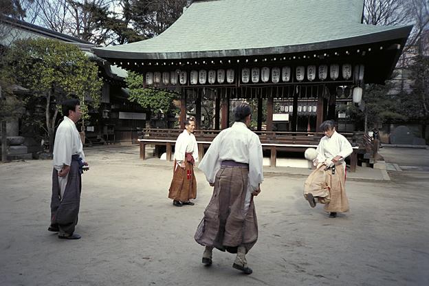京都 蹴鞠