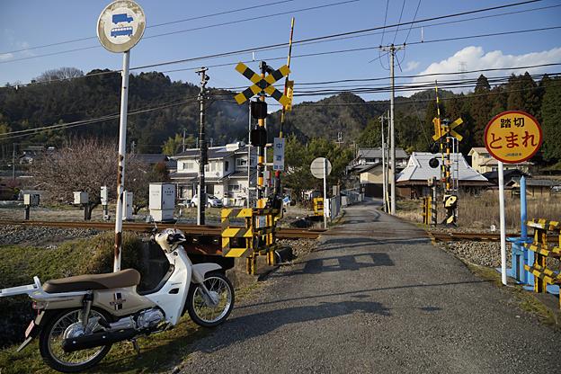 福知山線 中道踏切