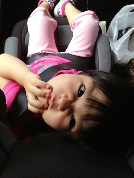 子供を不気味に撮る方法