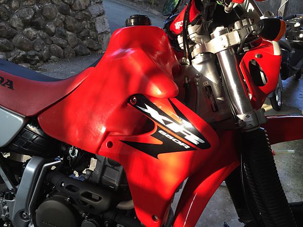 xr650r オイル交換