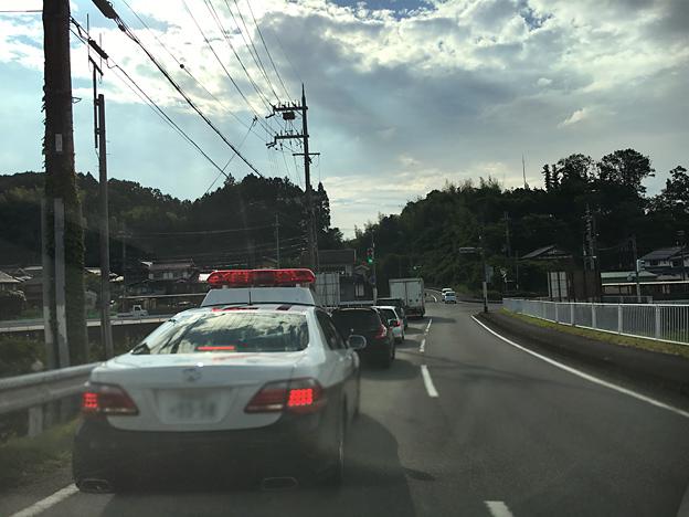 京都府警のパトカー